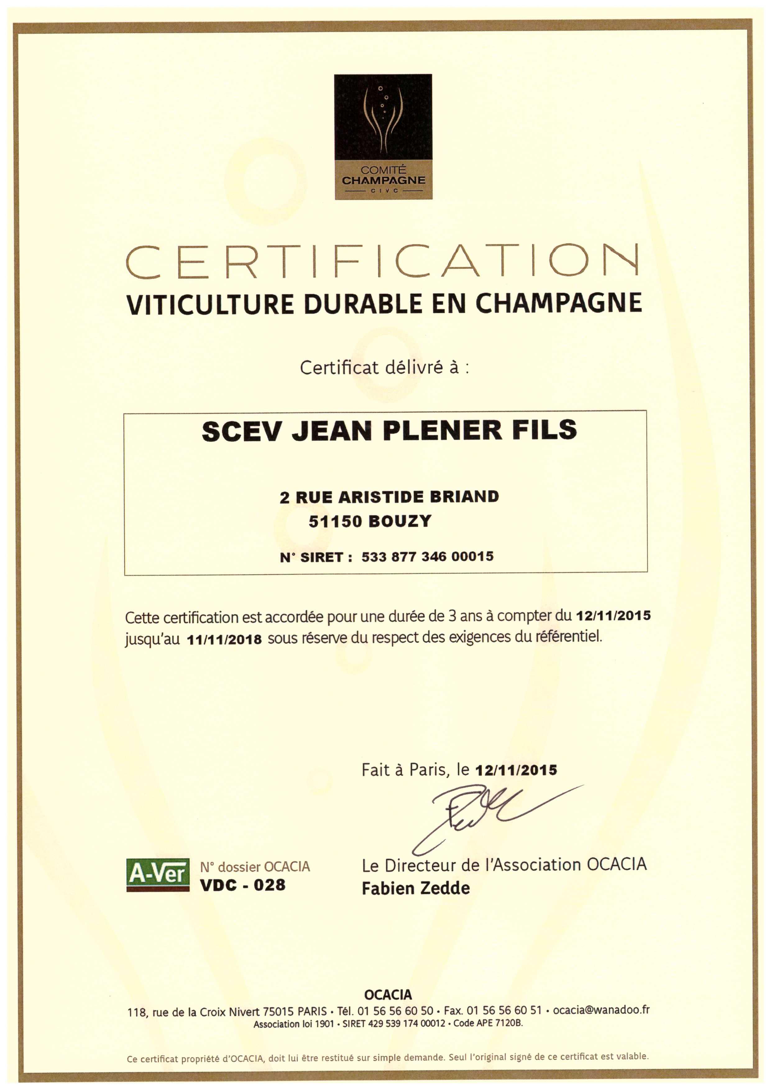 viticulture durable en champagne