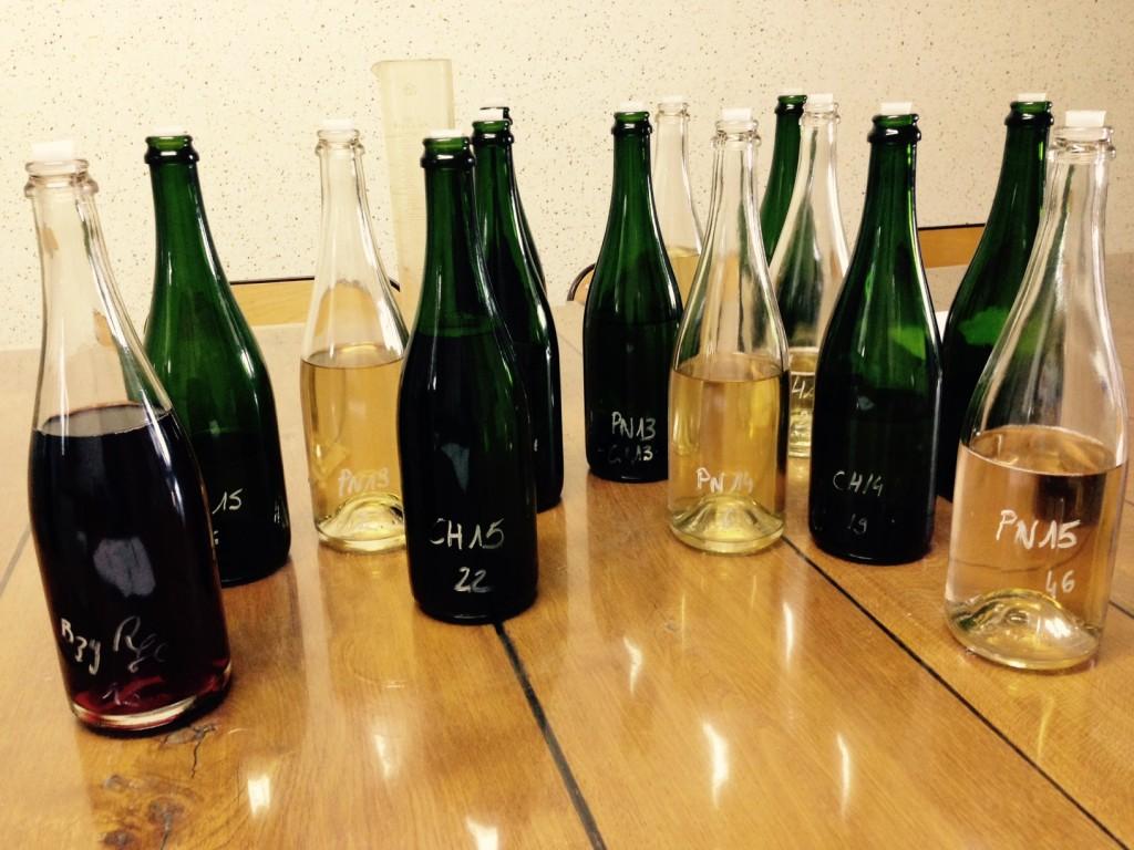 assemblage champagne grand cru